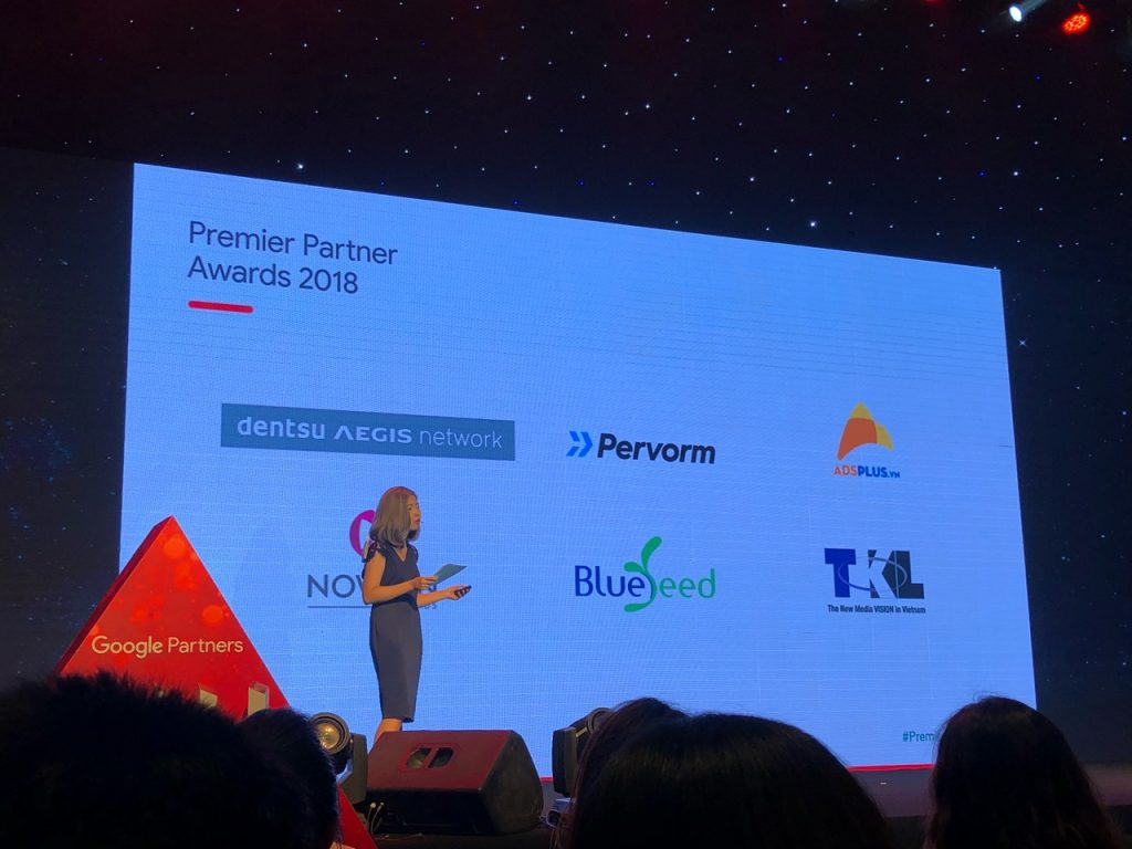 Bluesummit announced finalists at Google Premier Partners Awards Event