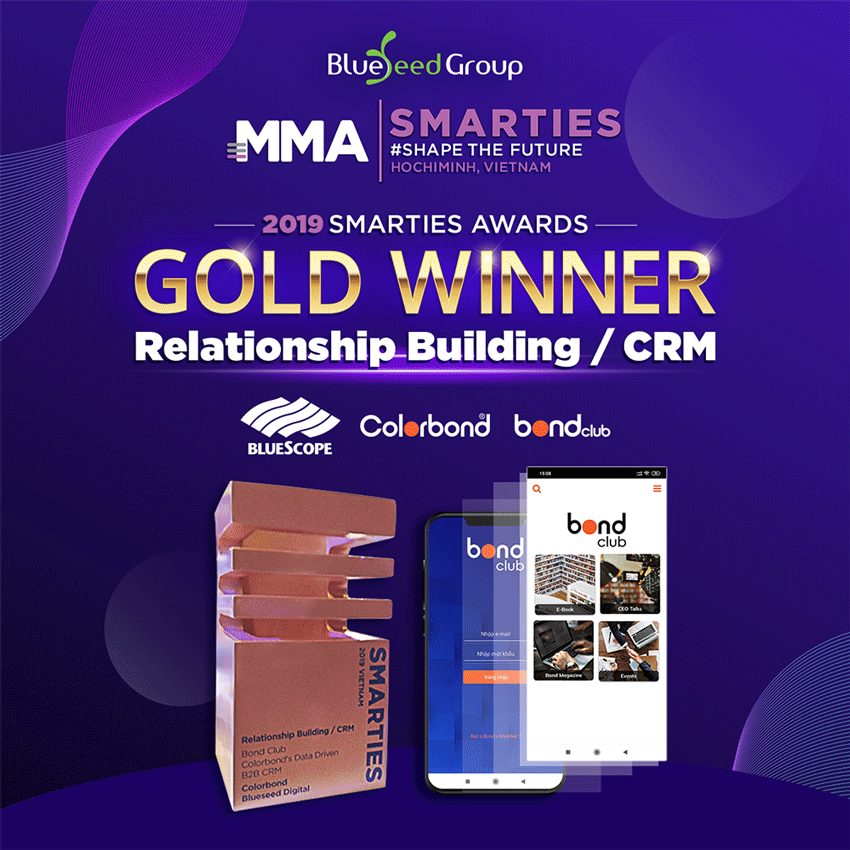 BLUESEED GROUP WIN GOLD AT 2019 MMA SMARTIES AWARDS